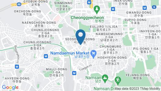 ENA Suite Hotel Namdaemun Map