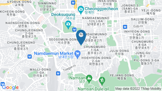 Sotetsu Hotels The Splaisir Seoul Myeong-Dong Map