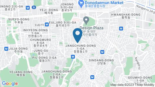 The Summit Hotel Seoul Dongdaemun Map