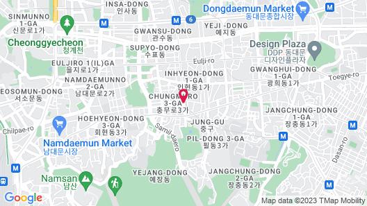 Tmark Hotel Myeongdong Map