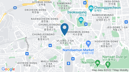 Fraser Place Central Seoul Map