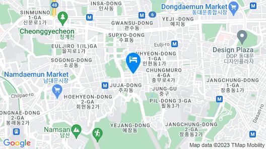 STAZ Hotel Myeongdong II Map