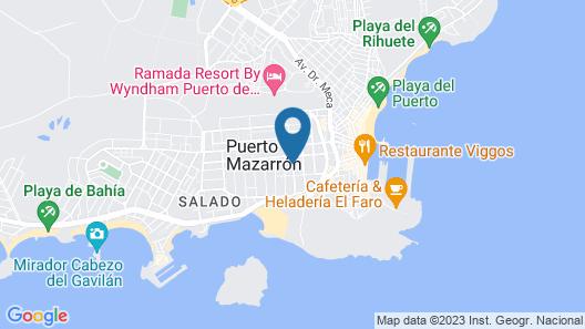 Apartamentos Beach House Map