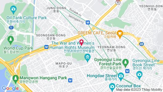 Benikea the M Hotel Map