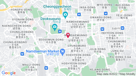 The Westin Josun Seoul Map