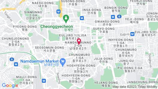 ibis Ambassador Seoul Myeongdong Map