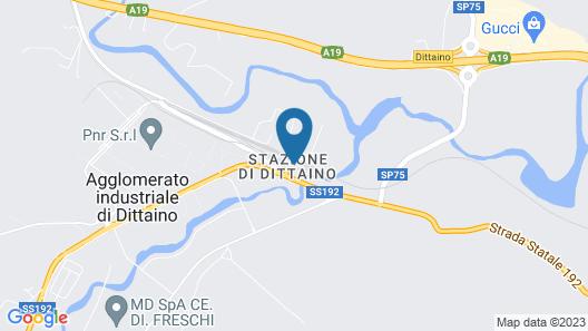 B&B Stazione Dittaino Map