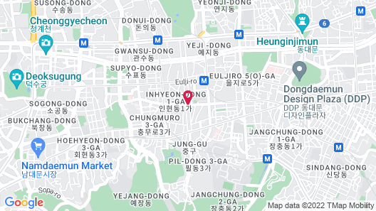 Hotel PJ Myeongdong Map