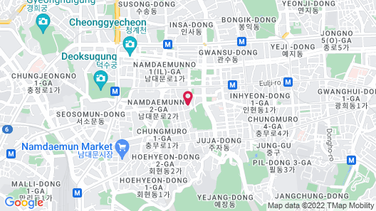 Royal Hotel Seoul Map