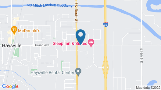 Haysville Express Inn Map