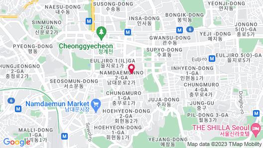 Hotel28 Myeongdong Map