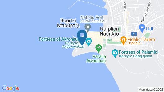 Nafplia Palace Hotel & Villas Map
