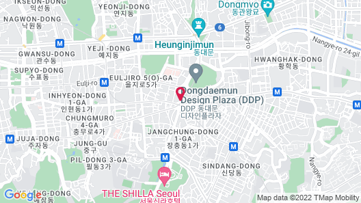 Sotetsu Hotels The Splaisir Seoul Dongdaemun Map
