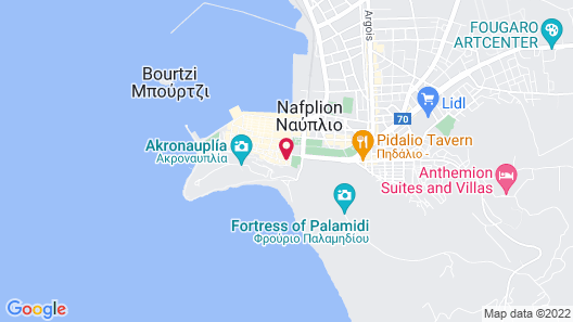 Dias Hotel Map