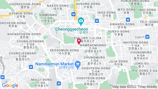 THE PLAZA Seoul, Autograph Collection Map