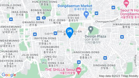 K-Guesthouse Dongdaemun 1 Map