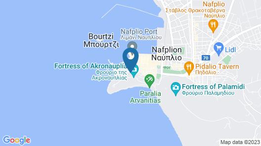 Leto Nuevo Hotel Map