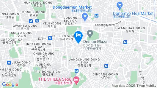 Hotel TreeShade Dongdaemun Map