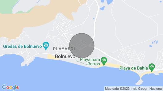 Duplex in Bolnuevo, very close to the beach and Puerto de Mazarrón Map