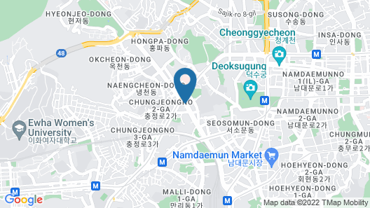 Shilla Stay Seodaemun (Seoul Station) Map