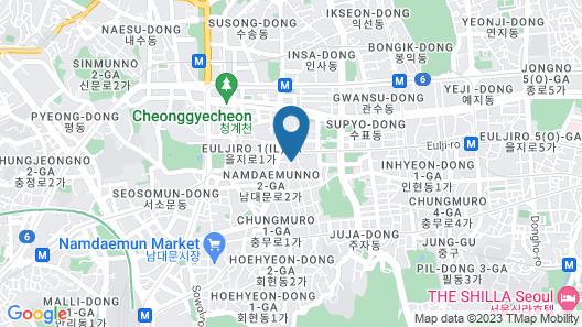 LINE HOTEL MYEONGDONG Map