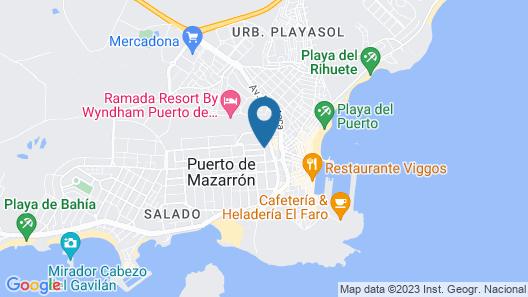 Pensión Egea II Map