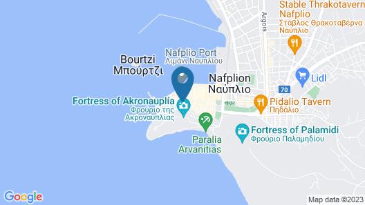 Ippoliti Hotel Map
