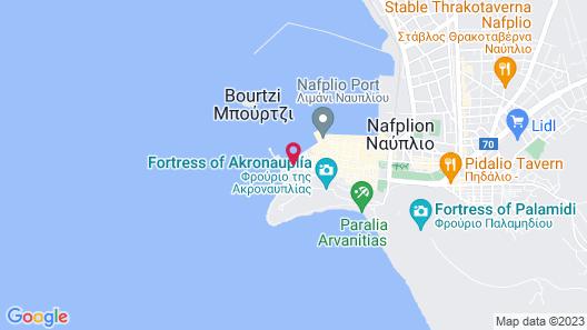 Amphitryon Hotel Map