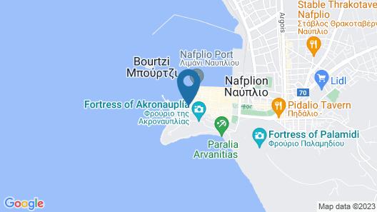 Gambello Luxury Rooms Map