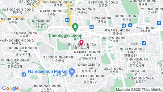 Lotte Hotel Seoul Map