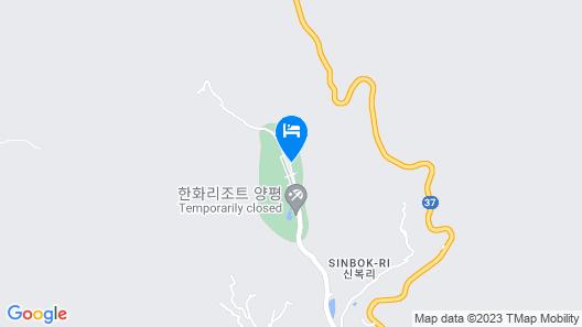 Hanwha Resorts Yangpyeong Map