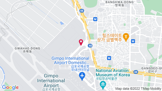 Lotte City Hotel Gimpo Airport Map