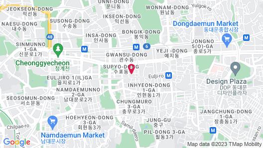 STAZ Hotel Myeongdong I Map