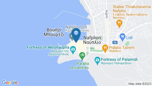 Amymone and Adiandi Map