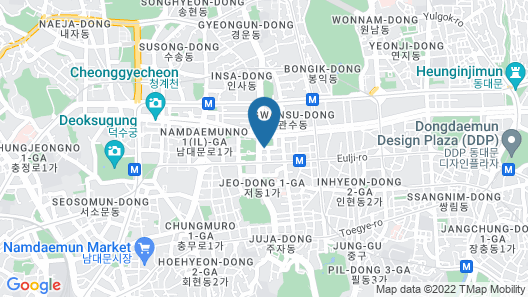 LOTTE City Hotel Myeongdong Map