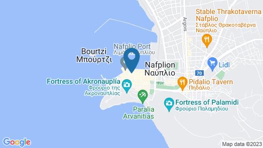 Carpe Diem Boutique Hotel Map