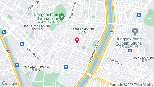 Hotel 9 in Dongdaemoon Map