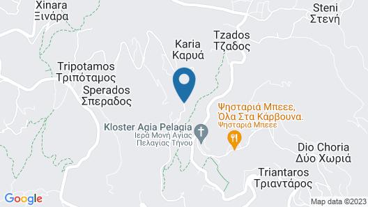 Tinos Pegion House Map