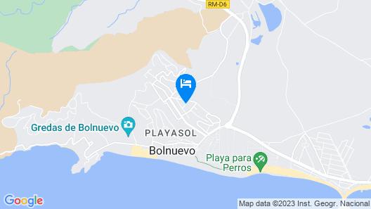 Playasol Map