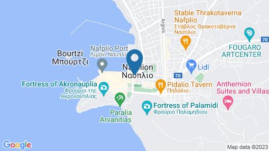 Agroikia Areti farmhouse Map