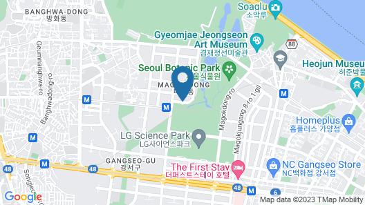 Courtyard by Marriott Seoul Botanic Park Map