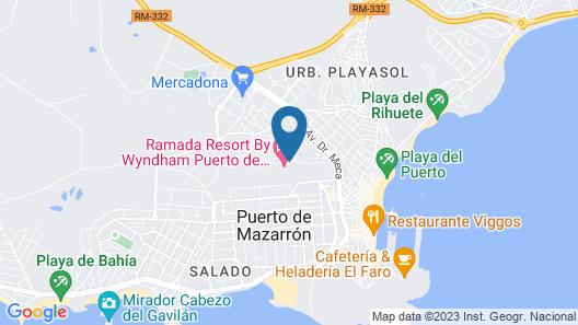 Hotel La Cumbre Map