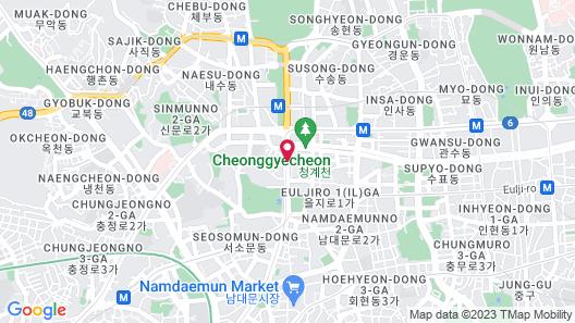 Koreana Hotel Map
