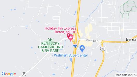 Fairfield Inn & Suites Lexington Berea Map