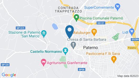 Rocca degli Etnei Map
