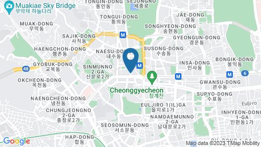 Four Seasons Hotel Seoul Map