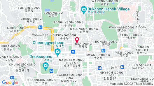 Center Mark Hotel Map