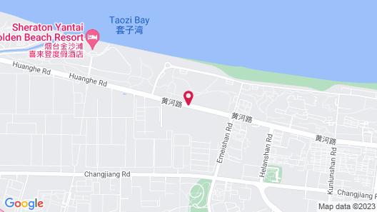Yantai Marriott Hotel Map