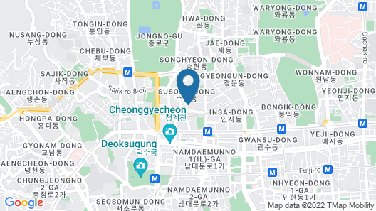 Shilla Stay Gwanghwamun Map