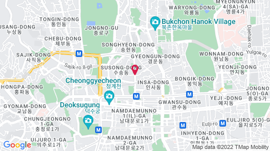 Hotel Aventree Jongno Map